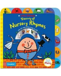 Lucy Cousins Treasury of Nursery Rhymes Book and CD (Book & CD)