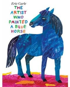 THE ARTIST WHO PAINTED a BLUE HORSE BDBK