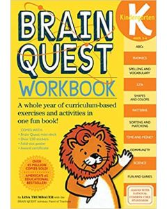 Brain Quest Workbook: Kindergarten (Brain Quest)
