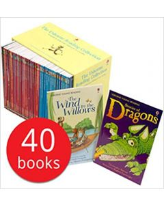 The Usborne Reading Collection - x 40 book boxed set