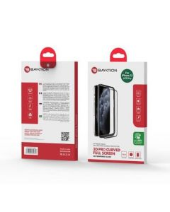 Baykron iPhone 12/12 Pro Antibacterial 3D Tempered Glass 6.1 inch
