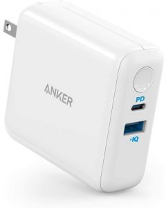 Anker PowerCore III Fusion 5K PD Portable Charger - White