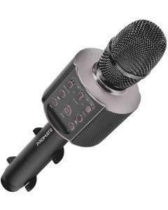 Karaoke 4.2 Bluetooth Mic with LED Light and Phone Holder 5W Speaker