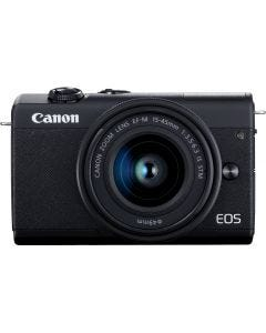 Canon EOS M200 Mirrorless Camera with 15-45 mm Lens -Black