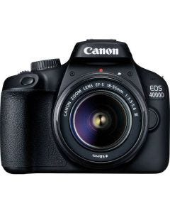 Canon EOS 4000D SLR Camera 18MP with 18-55mm Lens - Black