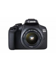 Canon EOS 2000D Digital Camera with 18-55 / 75-300 2 Lens Kit