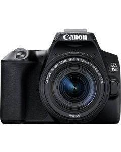 Canon EOS 250D Digital Camera - Black with 18-55mm