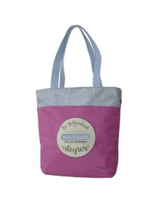 AMELIE Shopping Bag with zip closure 30x40x10cm