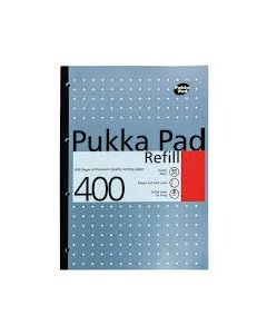 A4 Refill Pad  400 pages Metallic Silver Color Pukka Pad