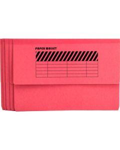 Wallet File   single Pocket F4  PINK
