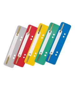 Fastener strip with perforation ErichKrause , assorted colors (25 pcs in a bag)