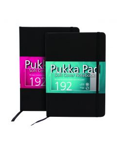 A5 Medium Soft Cover Notebook  192 pages Pukka Pad