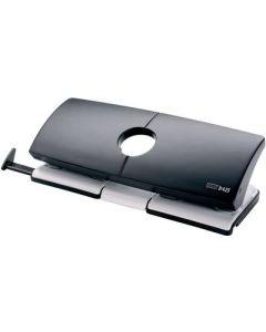 Novus B425 double perforator 4 Hole Punch grey/black