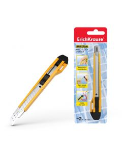 Cutter auto-lock ErichKrause Universal, 9 mm (1 pcs in blister)