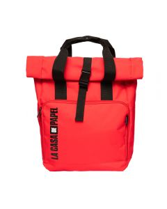 "BACKPACK 15"" LA CASA DE PAPEL RED"