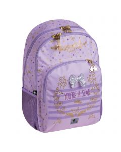 Double Backpack  STAR  30.0 x 45.0 x 15.0 cm