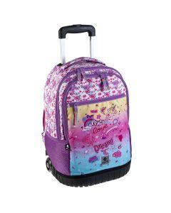 Double Backpack Trolley RAINBOW 31.0 x 54.0 x 26.0 cm