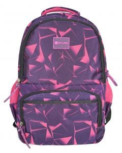 Trolley Bag Girl 18 inch Purple Abstract