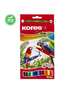 Kores KORELLOS 2in1 with standard and conic tip 10 Pens