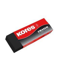 Kores High Performance Eraser KE-20 BLACK 60x21x10mm