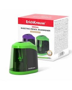 Electric sharpener ErichKrause Spiral with container