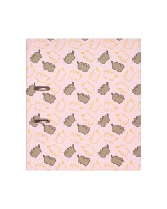 BINDER WITH COMPRESSOR CLIP 32 x 28 cm size, 7cm spine PUSHEEN ROSE COLLECTION