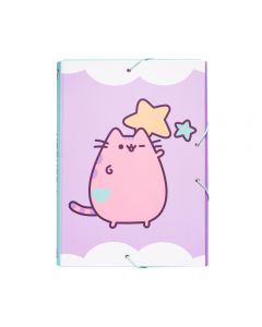 A4 FOLDER ELASTIC PUSHEEN THE CAT 2