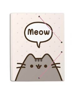 A4 FOLDER RUBBER PUSHEEN THE CAT