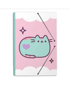 A4 FOLDER RUBBER PUSHEEN THE CAT 2