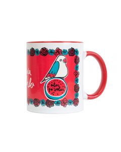 FRIDA KAHLO MUG 330ML WINGS TO FLY