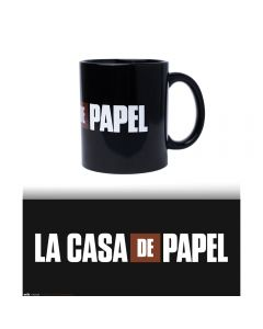 MUG LA CASA DE PAPEL LOGO 300ML