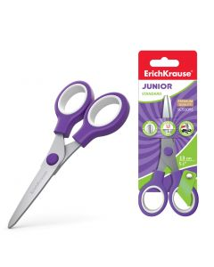 Scissors ErichKrause Junior, 13cm (1 pcs in blister)
