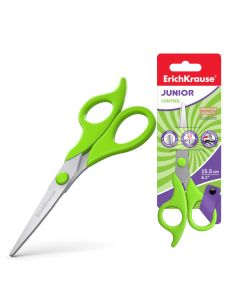 Scissors ErichKrause Control Junior , 15.5cm (1 pcs in blister)