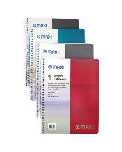 MAXI Subjects Notebook HC 80SH 1Sub  9.5X7