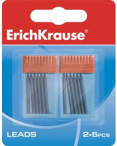 Leads for compasses ErichKrause (in blister 2 containers by 5 pcs.)