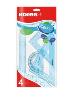Kores GEO30, 30cm Geometrico Kit large plastic