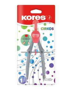Kores CIRKOS Compass Plastic 1pc