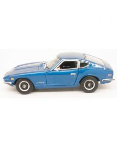 Miniatures 1971 Datsun 240Z Sky Blue / Red