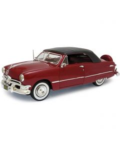 Miniatures 1950 Ford Convertible Soft Top Red