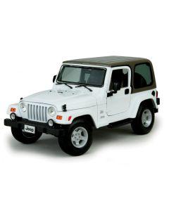 Miniatures Jeep Wrangler Sahara White