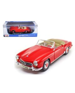 Miniatures 1955 Mercedes Benz 190 SL Red