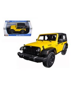 Miniatures 2014 Jeep Wrangler Willys Yellow