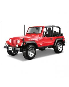 Miniatures 2014 Jeep Wrangler Rubicon (Open Top) Red