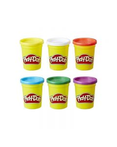 Hasbro Play-Doh 6 Pack Primary Colors C3898