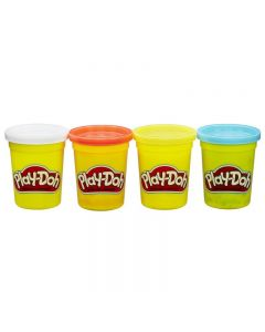 Hasbro Play-Doh Classic Color Pack Of 4 - 3 Designs B5517 / C0396