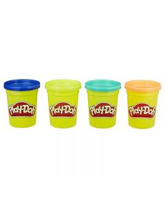 Hasbro Play-Doh Wild Color Pack Of 4 B5517 / E4867