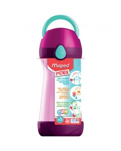 Maped Picnik Concept Water Bottle 430ml Pink