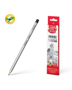 Graphite hexagonal pencil ArtBerry set of 6