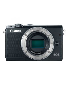 Canon EOS M100 Mirrorless Camera with 15-45 mm Lens - Black